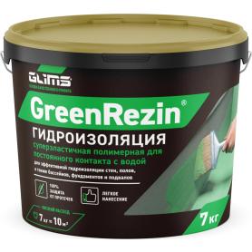 Герметик эластичный Glims GreenResin, 7 кг