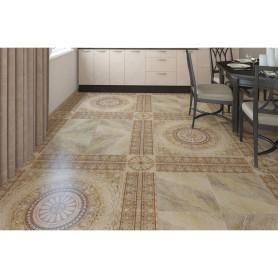 Вставка угловая «Тенерифе» 14х14 см цвет бежевый