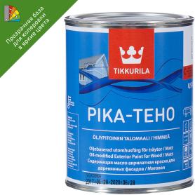 Эмаль для колеровки Тиккурила PIKA-TEHO прозрачная база С 0.9л