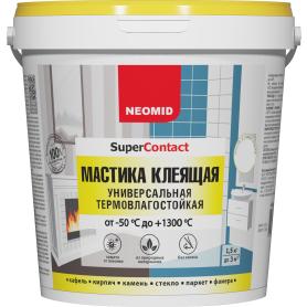 Мастика универсальный Neomid, термовлагостойкая, 1.5 кг