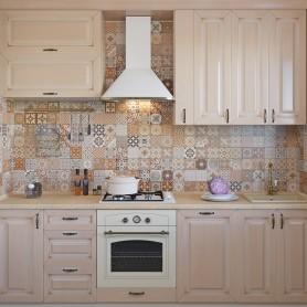 Плитка настенная «Toscana Mix», 10x20 см, 1 м2, цвет мультиколор
