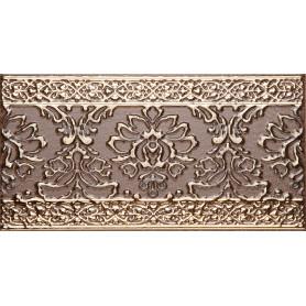 Бордюр «Катар» 13x25 см цвет коричневый