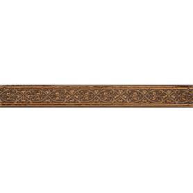 Бордюр «Катар» 2.8х25 см цвет коричневый