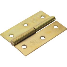 Петля мебельная карточная съёмная левая Amig 540, 60х40 мм, сталь, цвет золото