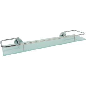 Полка для ванной комнаты Mr Penguin «Sonata» 50 см стекло