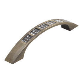 Ручка-скоба Kerron CRL04 96 мм металл цвет бронза