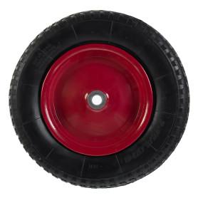 Колесо для тачки пневматическое WB6204S, размер 3.25/3.00-8, диаметр втулки 20 мм. D355 мм.
