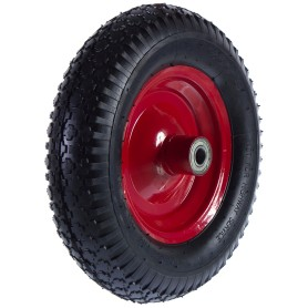 Колесо для тачки пневматическое WB5009-YC, размер 4.80/4.00-8, диаметр втулки 20 мм. D395 мм.