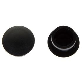 Заглушка для дверных коробок 14 мм полиэтилен цвет чёрный, 20 шт.