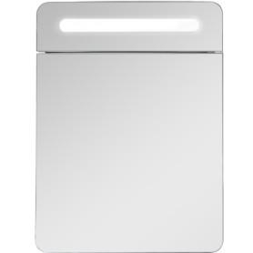 Шкаф зеркальный «Аврора» 70 см цвет белый