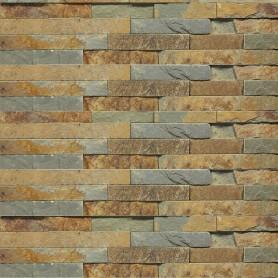 Камень натуральный Сланец, цвет мультиколор, 0.63 м2