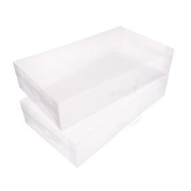 Набор коробов Handy Home 52х11,5x30 см, пластик цвет прозрачный, 2 шт.