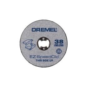 Набор отрезных кругов Dremel SC456, резка металл/дерево/пластмасса, 38 мм, 12 шт.