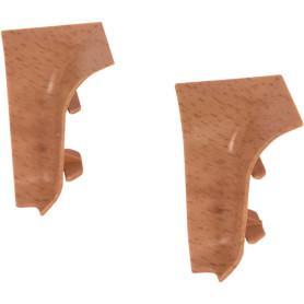 Угол для плинтуса внутренний «Бук» 47 мм 2 шт.