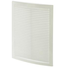 Решетка вентиляционная вытяжная АБС 2030РЦ, 200х300 мм, цвет белый