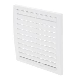 Решетка вентиляционная регулируемая, АБС 1515РРП, 150х150 мм, цвет белый