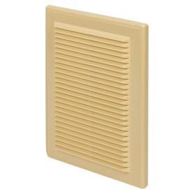 Решетка вентиляционная Вентс МВ 125 с, 182x251 мм, цвет бежевый