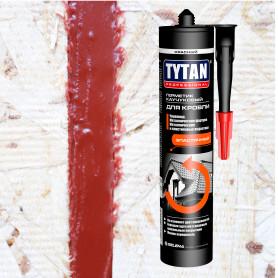 Герметик каучуковый кровельный красный Tytan Professional, 310 мл