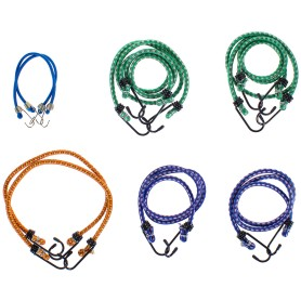 Набор веревок Standers, 4-6 мм, каучук/полипропилен, цвет мультиколор, 10 шт.