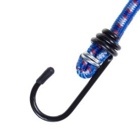Веревка 6 мм 0.8 м, каучук/полипропилен, цвет мультиколор, 2 шт.