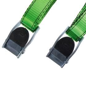Ремень Standers 25 мм 2.5 м, полиэстер, цвет зелёный, 2 шт.