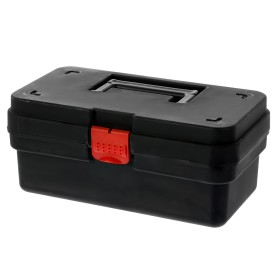 Ящик для инструмента 157х122х284 мм, пластик, цвет чёрный