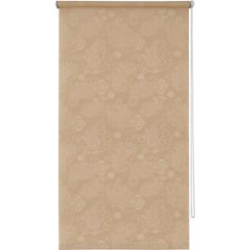 Штора рулонная «Арабеска» 100х160 см, цвет капучино