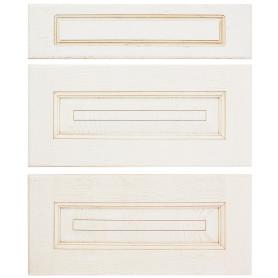 Двери для шкафа Delinia «Нэнси» 60x70 см, массив ясеня, цвет бежевый, 3 шт.