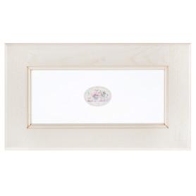 Витрина для шкафа Delinia «Нэнси» 60x35 см, массив ясеня, цвет бежевый