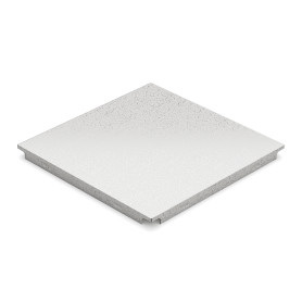 Набор кассет 300х300 мм цвет белый иней, 10 шт.