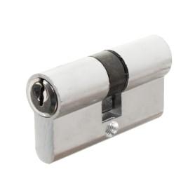 Цилиндр ключ-ключ 30х30, хром E AL 60 CP