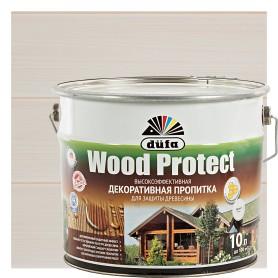 Антисептик Wood Protect цвет белый 10 л