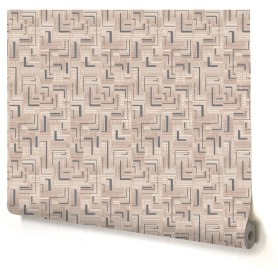Обои виниловые Home Color Labirint серые 0.53 м 182-24