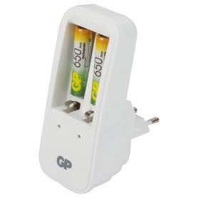 Зарядное устройство GP 410, 2 аккумулятора ААА, 650 мAh