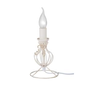 Основание лампы Мелодия 1xE14x60 Вт, цвет белый