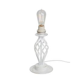 Основание лампы Мелодия 1xE27x60 Вт, цвет коричневый