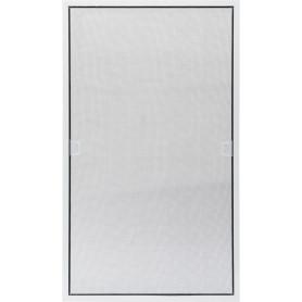 Москитная сетка белая 89х52 см к окну ПВХ 100х60 см