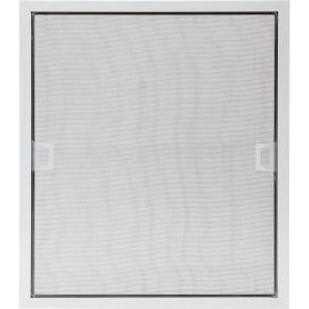 Москитная сетка белая 49х42 см к окну ПВХ 60Х50 см