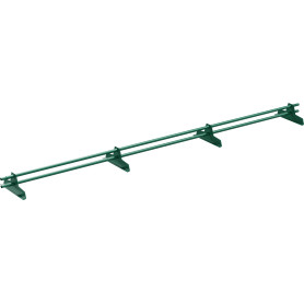 Снегозадержатель трубчатый Эко 3 м цвет зелёный
