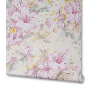 Обои бумажные Акварель розовые 0.53 м 3234-61