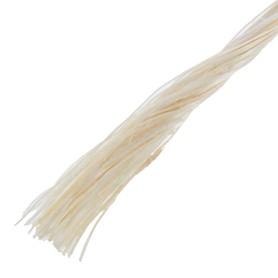 Нить крученая 2.8 мм, 18 м, сизаль, цвет бежевый
