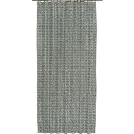 Штора на ленте 145х260 см лён цвет бирюзовый