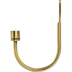 Подхват 20 мм металл цвет золото