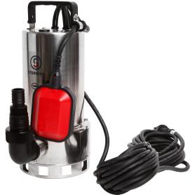 Насос погружной дренажный Sterwins Inox DW-3 для грязной воды, 18000 л/час