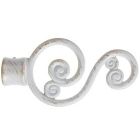 Наконечник «Чародейка» 10 см цвет белый антик