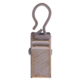Крючок-зажим для штор 3 см цвет белый антик