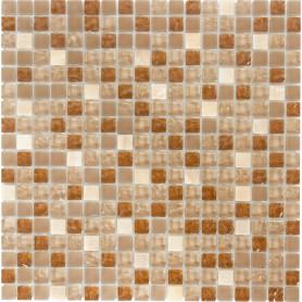 Мозаика Artens, 30.1х30.1 см, стекло, цвет бежевый