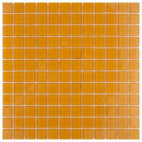 Мозаика Artens, 30х30 см, стекло, цвет оранжевый