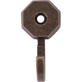 Крючок «Многоугольник» металл цвет золото 2 шт.