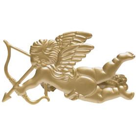 Клипса «Амур», цвет матовое золото